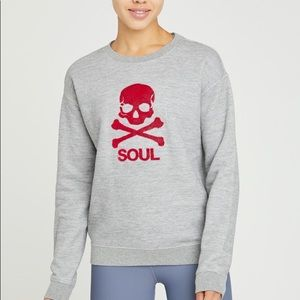 Grey soul cycle pullover